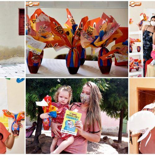 Assistência Social promove a Páscoa Itinerante para o SCFV e Criança Feliz em Alegrete; fotos