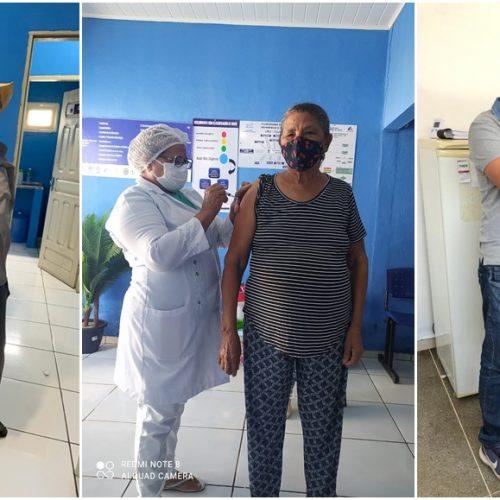 Em São Julião, 100% dos idosos acima de 70 anos estão vacinados contra a Covid-19