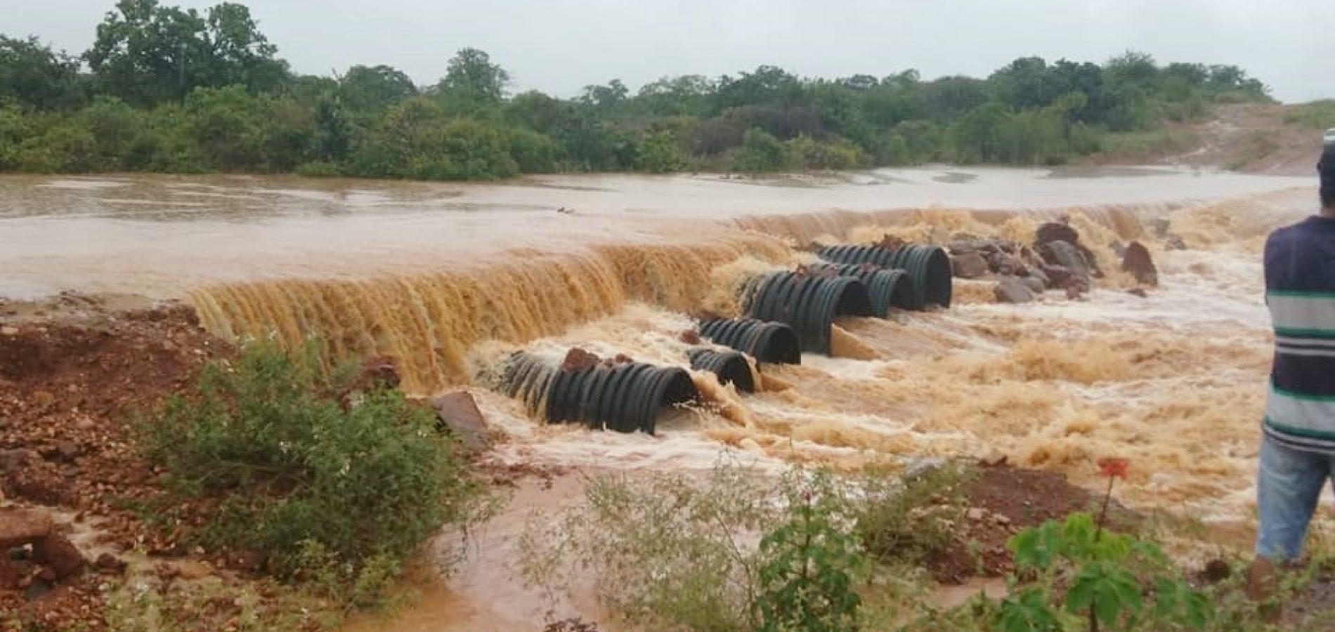 Em 24h, volume de chuvas ultrapassa a média mensal no município de Queimada Nova
