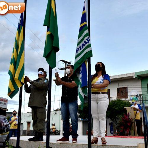 Ato cívico e missa em ação de graças celebram o aniversário de 29 anos de Santana do Piauí. Fotos!