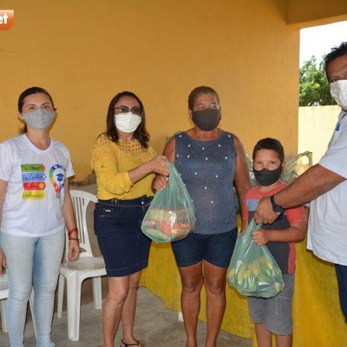 Secretaria de Educação faz distribuição da merenda escolar em Belém do Piauí