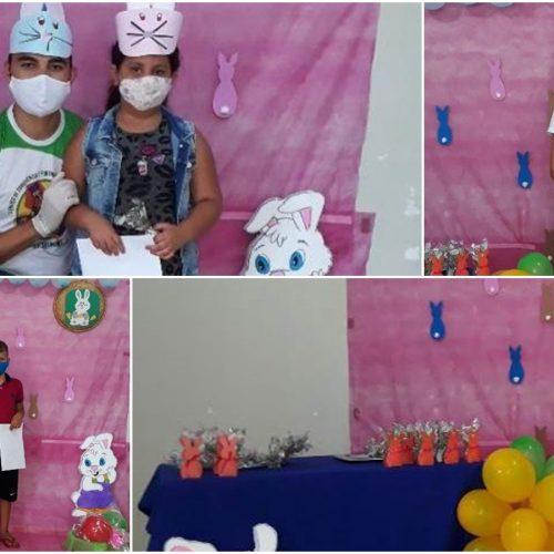 Assistência Social de Geminiano promove projeto Páscoa Itinerante e distribui 300 ovos de chocolate