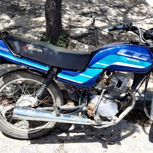 Polícia de Pio IX recupera moto furtada e prende autor do crime