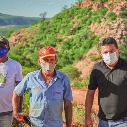 Gestão do prefeito Dr. Corinto recupera Ladeira do Socorro e melhora tráfego na zona rural de Marcolândia