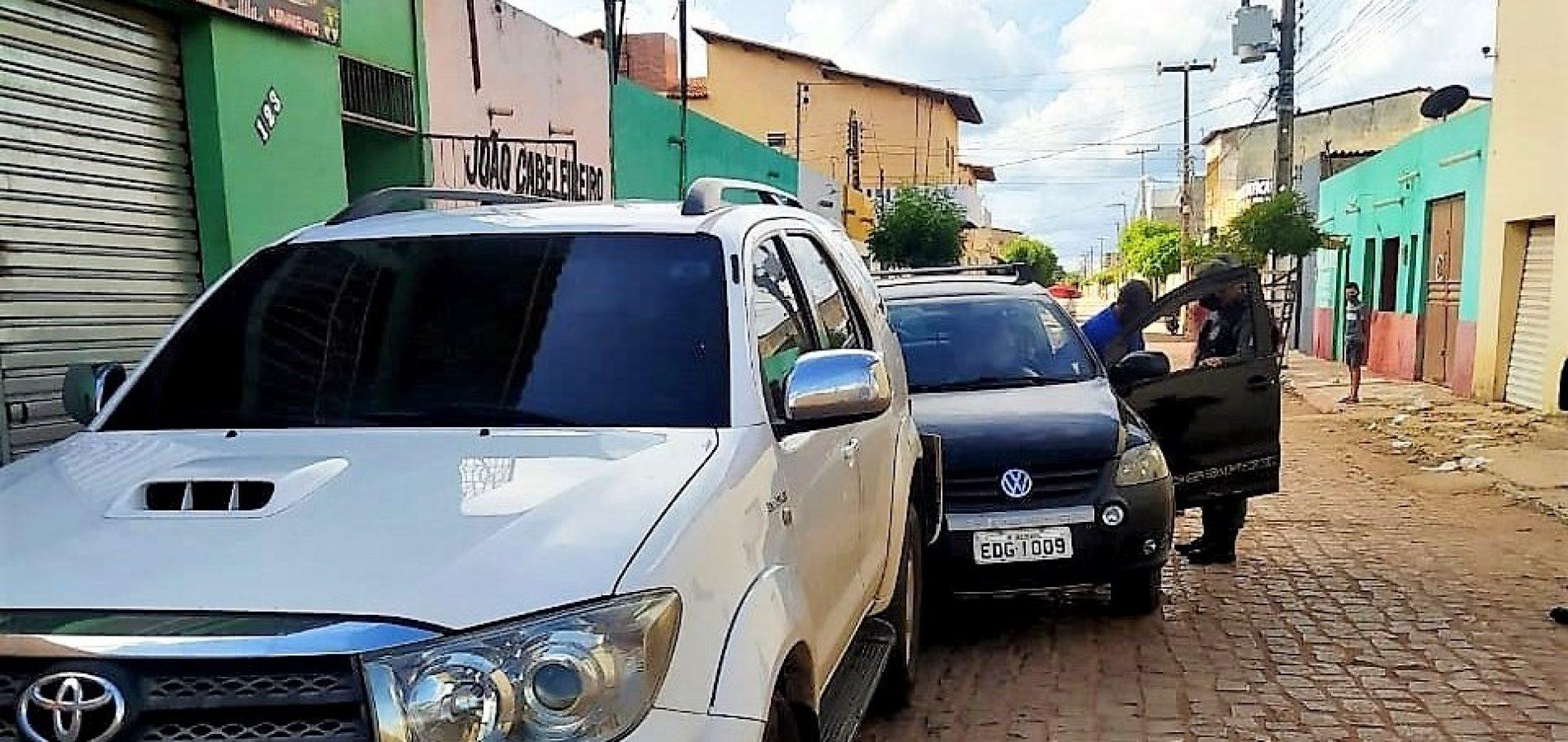 Motorista embriagado é conduzido pela polícia após colidir com veículo em Marcolândia