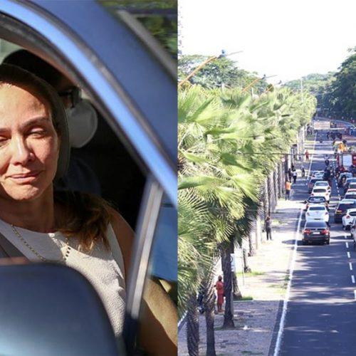 Cortejo de despedida de Firmino Filho é iniciado com grande comoção na cidade