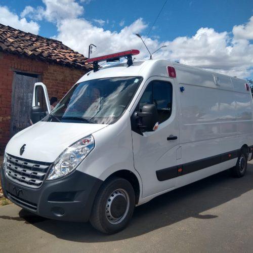 Curral Novo recebe ambulância semi UTI e vai qualificar o transporte de pacientes