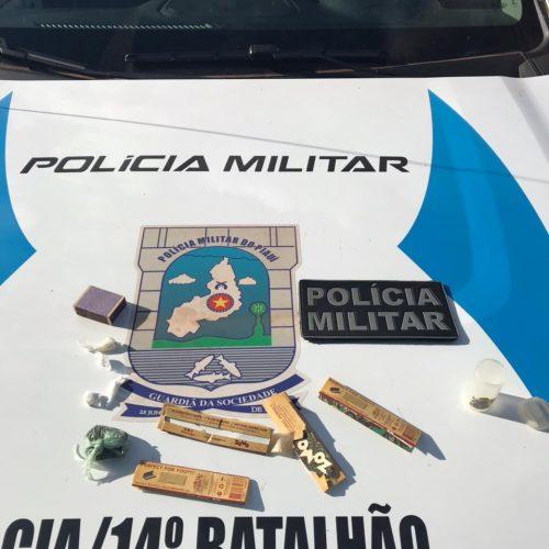 Três pessoas são presas com drogas em Santa Cruz do Piauí
