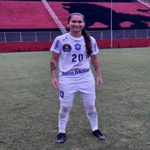 Atacante natural de Curral Novo do Piauí marca três gols em estreia no Brasileiro Feminino A 2