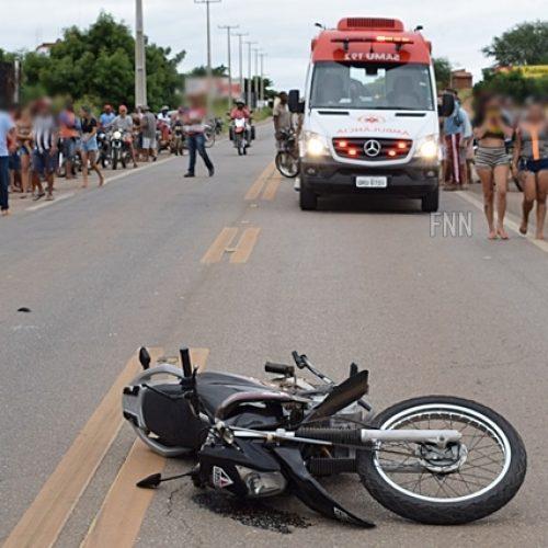 Colisão entre motocicletas deixa duas pessoas feridas em Paulistana