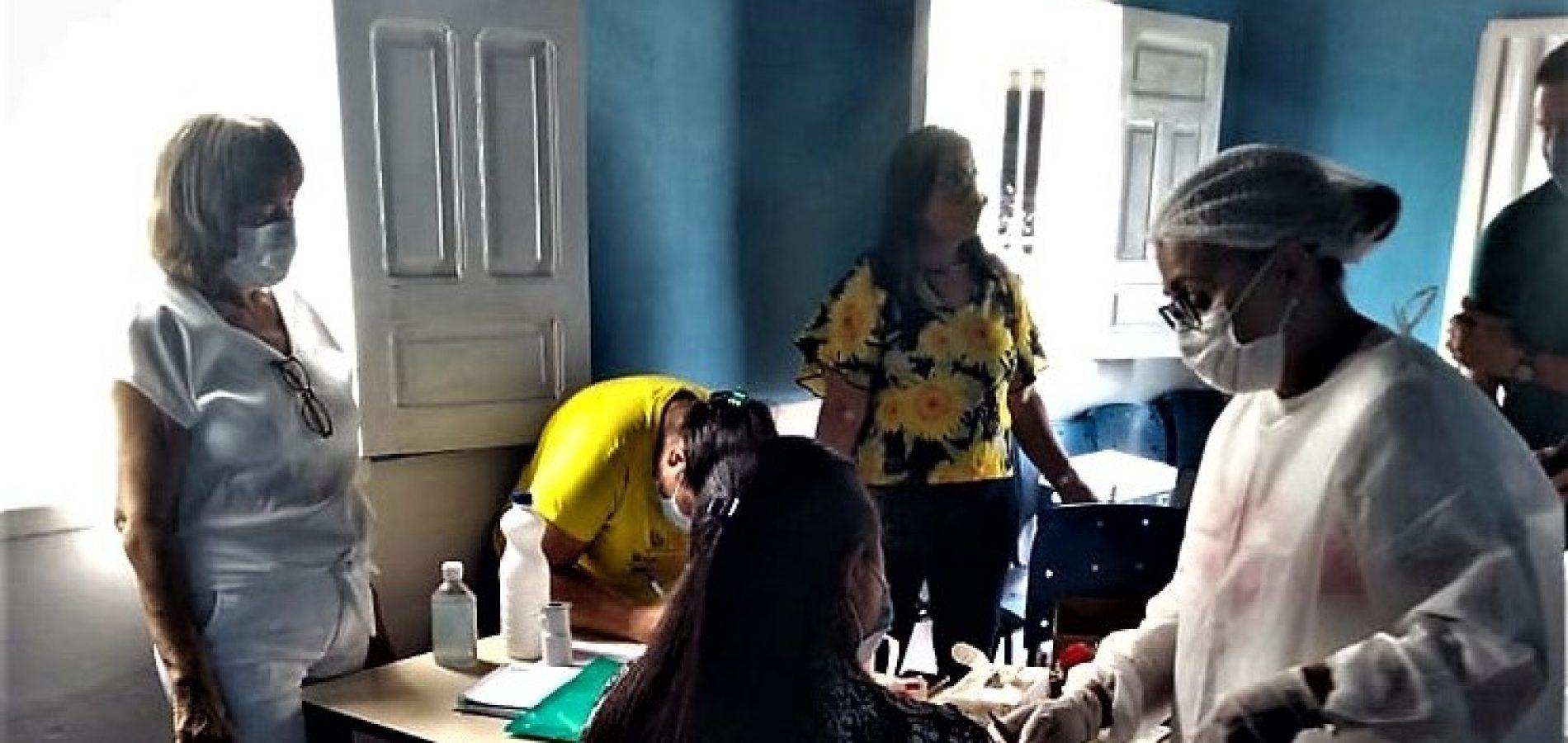 BOCAINA| Assistência Social realiza testes em profissionais para rastrear casos de Covid-19