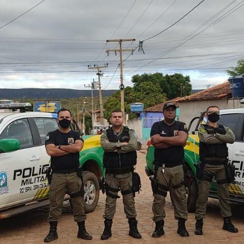 Moto furtada em Acauã é recuperada pela PM em Queimada Nova e dupla localizada; um era menor de idade