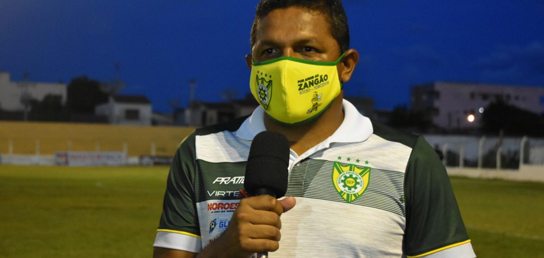 Washington Luiz deixa o comando da Sociedade Esportiva de Picos