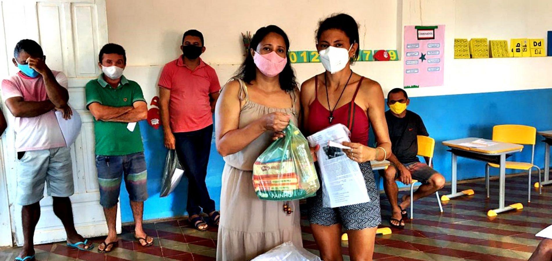 Educação de Bocaina conclui distribuição de kits de merenda escolar em comunidades da zona rural