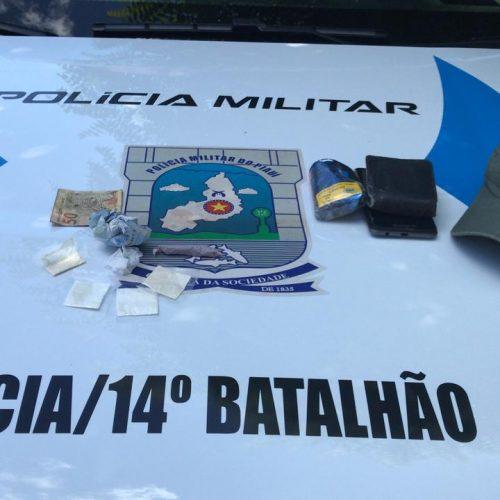 Homem é preso por tráfico de drogas em Santa Cruz do Piauí