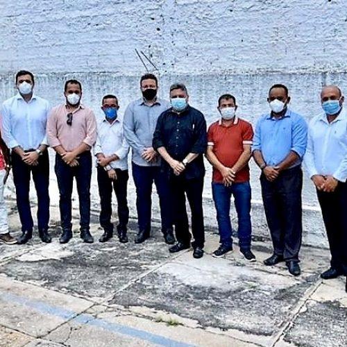 Prefeito de Santo Antônio de Lisboa solicita melhorias no abastecimento de água em visita ao DNOCS