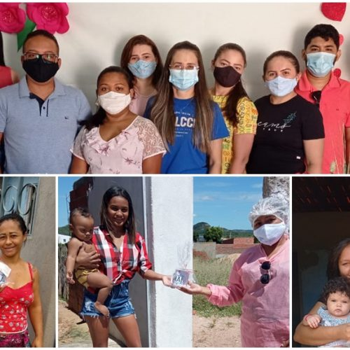 MASSAPÊ | Assistência Social homenageia mães do Criança Feliz e Serviço de Convivência