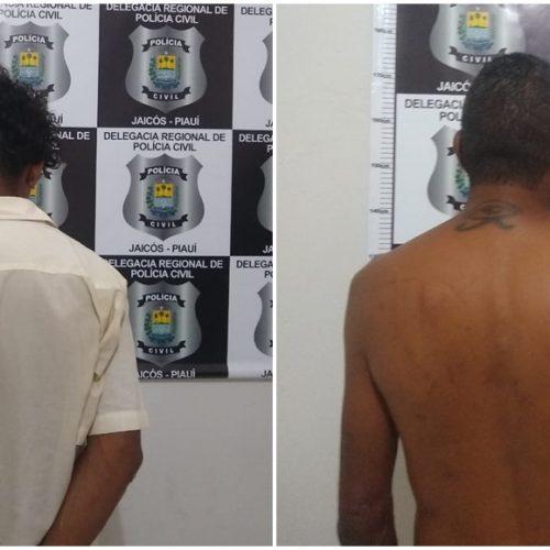 Polícia Civil de Jaicós captura foragido de presídio e acusado de tentativa de homicídio