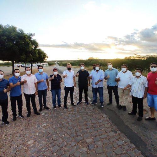 Diretor do DER visita Belém do Piauí e confirma recuperação da PI-243 para o final de junho