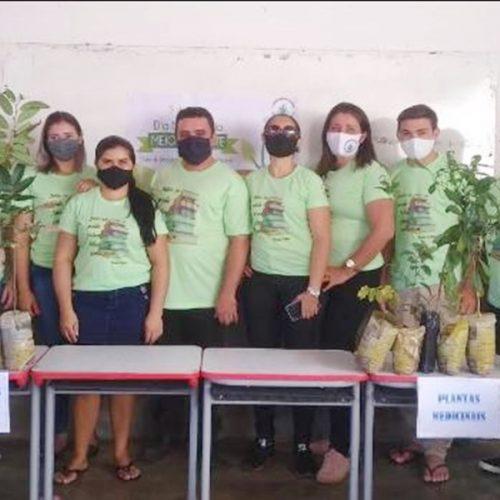 Escola da zona rural de Padre Marcos promoveSemana do Meio Ambiente e mudas de plantas são distribuídas