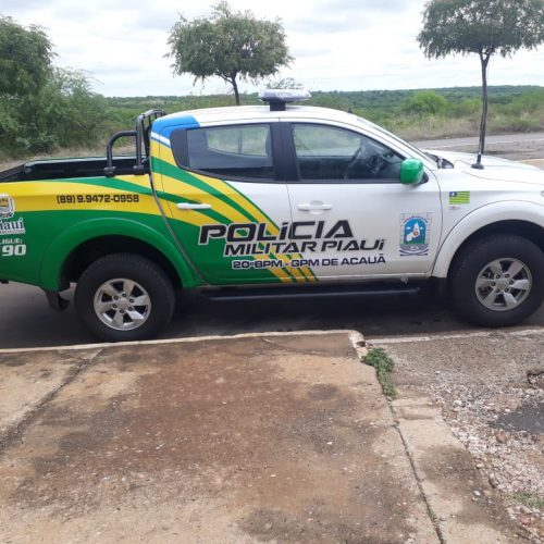 Homem procurado pela Justiça por tentativa de assalto é preso pela PM em Paulistana
