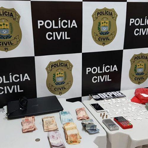 Operação Narco BRA-PI faz buscas em seis cidades contra o tráfico de drogas