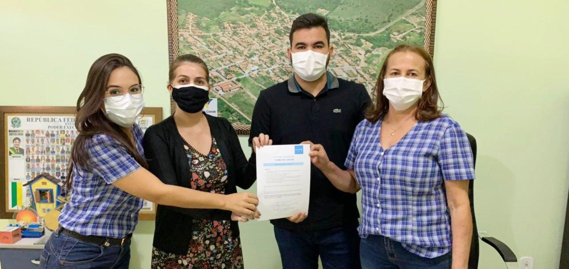 Caldeirão Grande do Piauí faz adesão a edição 2021/2024 do Selo Unicef