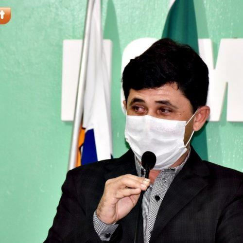Vereador Chaguinha quer inclusão de mototaxistas em prioridade da vacinação contra a Covid-19