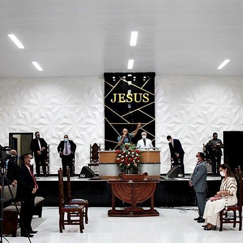 Culto em Ação de Graças encerra programação e celebra o 86º aniversário de Fronteiras; veja fotos