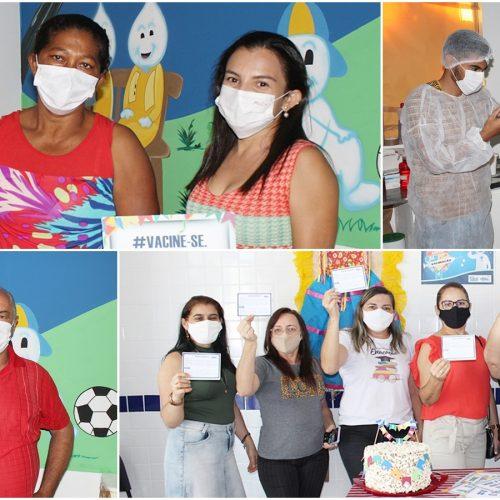 Caridade do Piauí inicia vacinação dos trabalhadores da Educação contra a Covid-19