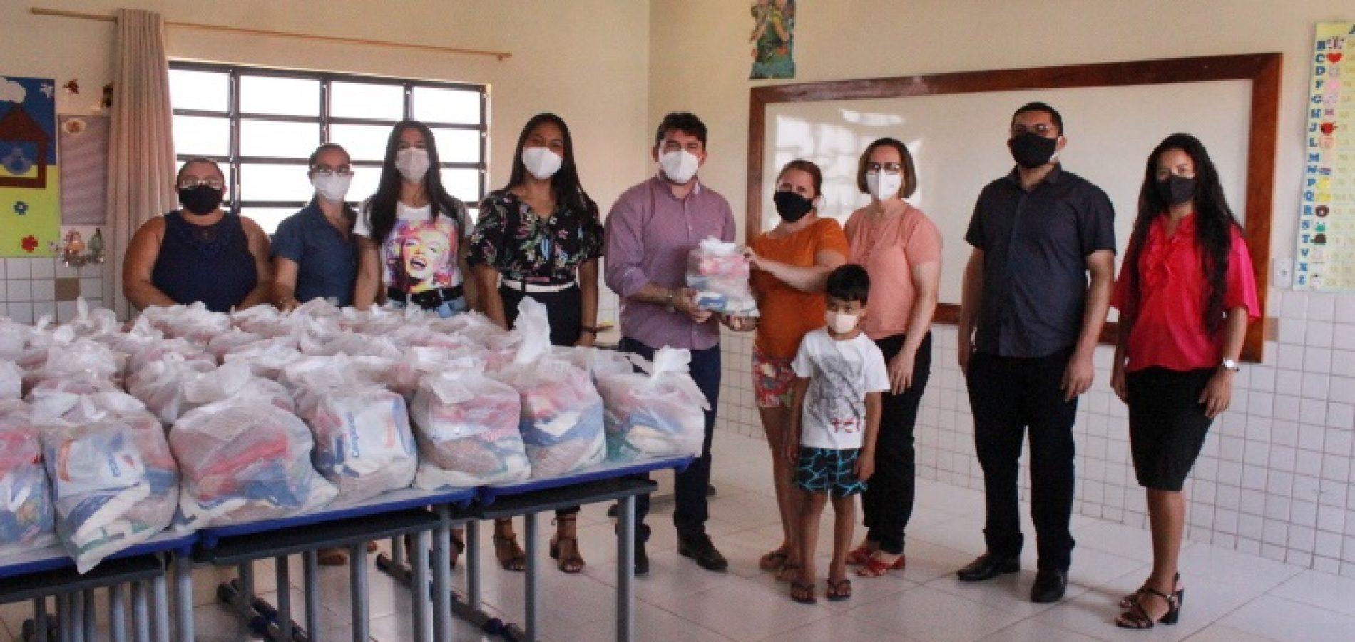 Ipiranga do Piauí inicia a distribuição de 1.500 kits de merenda escolar e vai beneficiar a todos os alunos