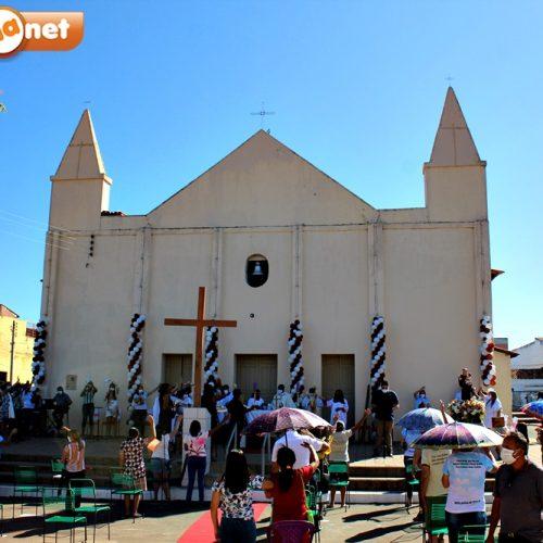 Missa solene marca o encerramento da 84ª festa de Santo Antônio de Lisboa