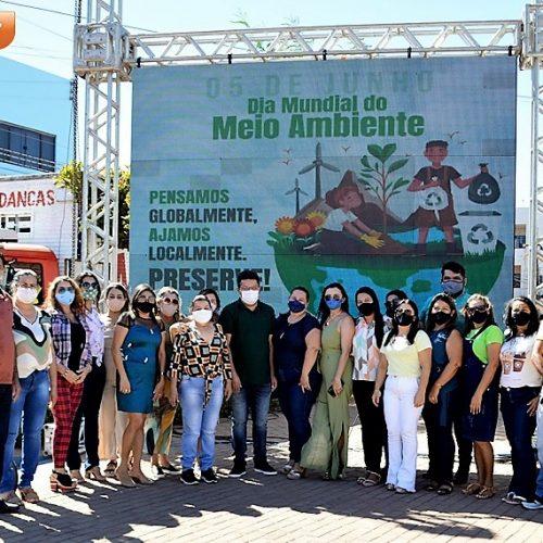 Dia Mundial do Meio Ambiente é celebrado em Marcolândia com plantio de árvores e palestra; fotos