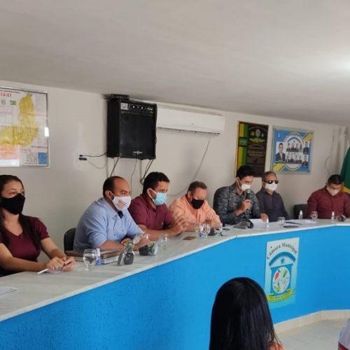 Câmara de Vila Nova realiza sessão, aprova requerimentos e projetos de leis; executivo participa