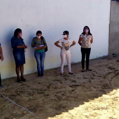 Reunião discute implantação de hortas em escola da zona rural de Marcolândia