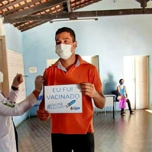 Santo Antônio de Lisboa inicia vacinação contra a Covid-19 em profissionais da Educação