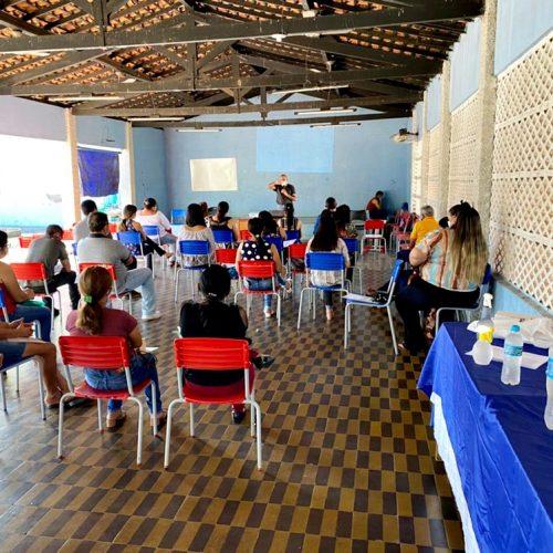 Saúde de Santo Antônio de Lisboa promove capacitação sobre Hanseníase e Tuberculose