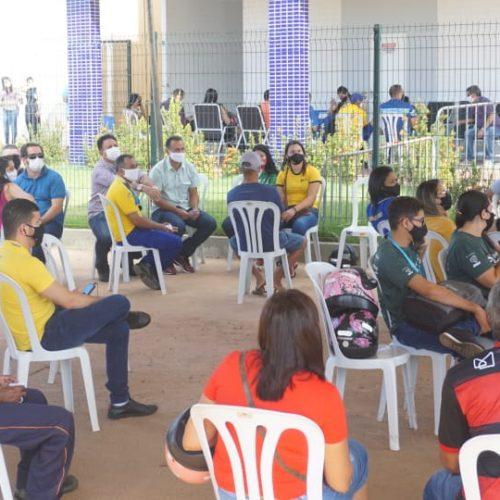 Saúde de Picos promove 'Arraiá da Vacinação' no CIEM