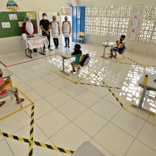 Caridade do Piauí retoma aulas de forma presencial. Veja!
