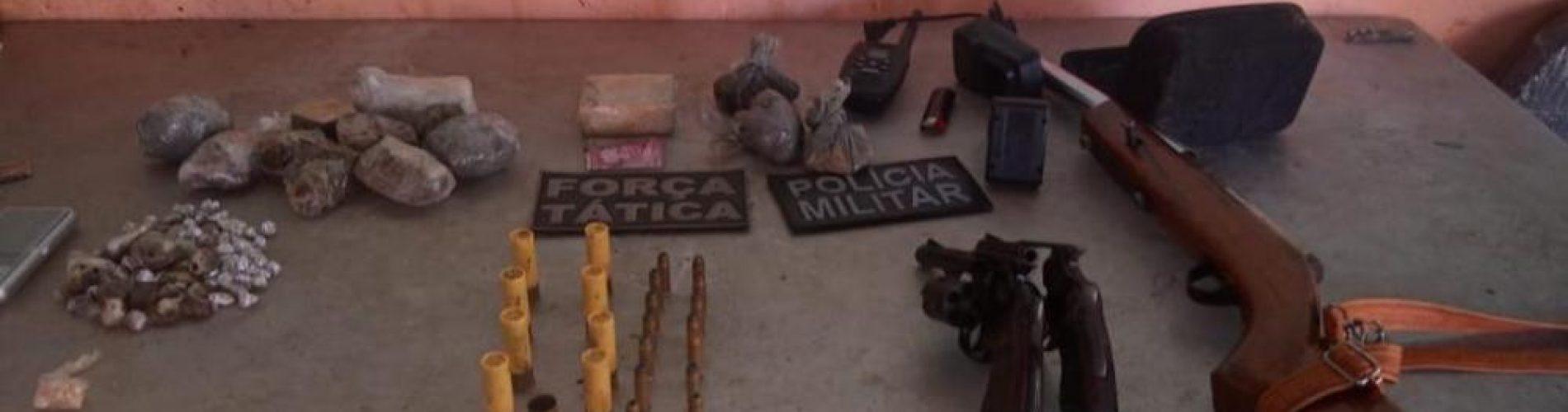 Após troca de tiros, PM prende três acusados de tráfico de drogas no Piauí