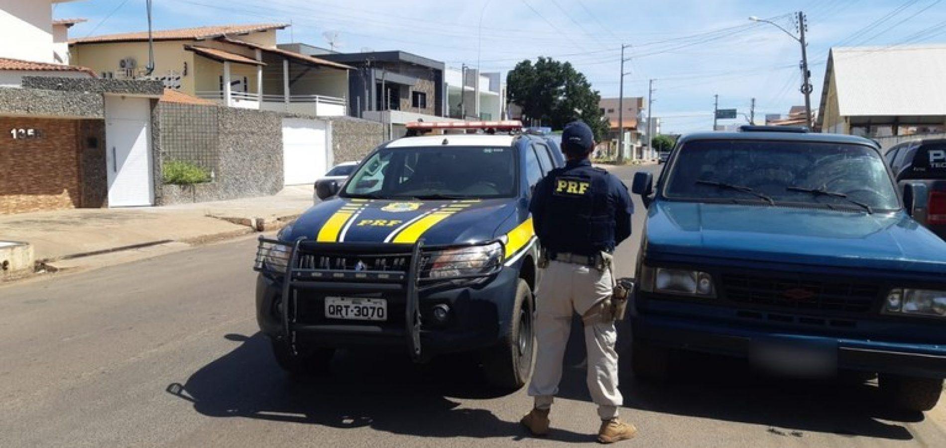 PICOS   Três pessoas são presas por furto de D-20 recuperada durante perseguição