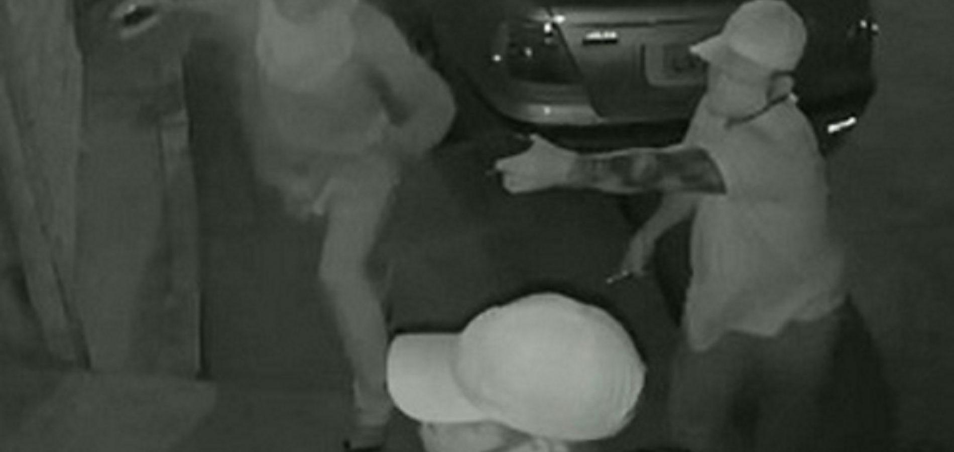 Vídeo:câmeras de segurança registram arrastão em residência no bairro Saci