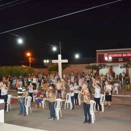 Festejo de Santo Antônio é aberto em Padre Marcos