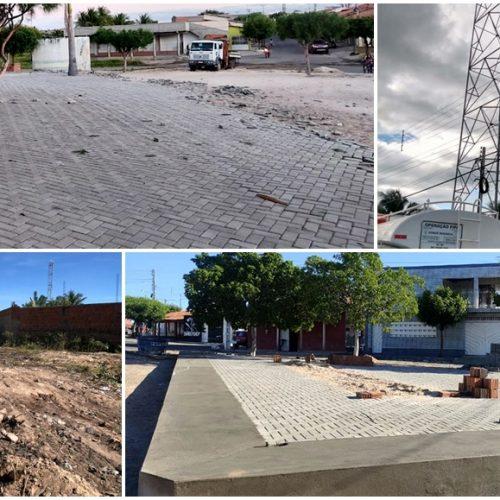 Prefeitura de Alegrete investe em construção de praças, recuperação de estradas e abastecimento de água