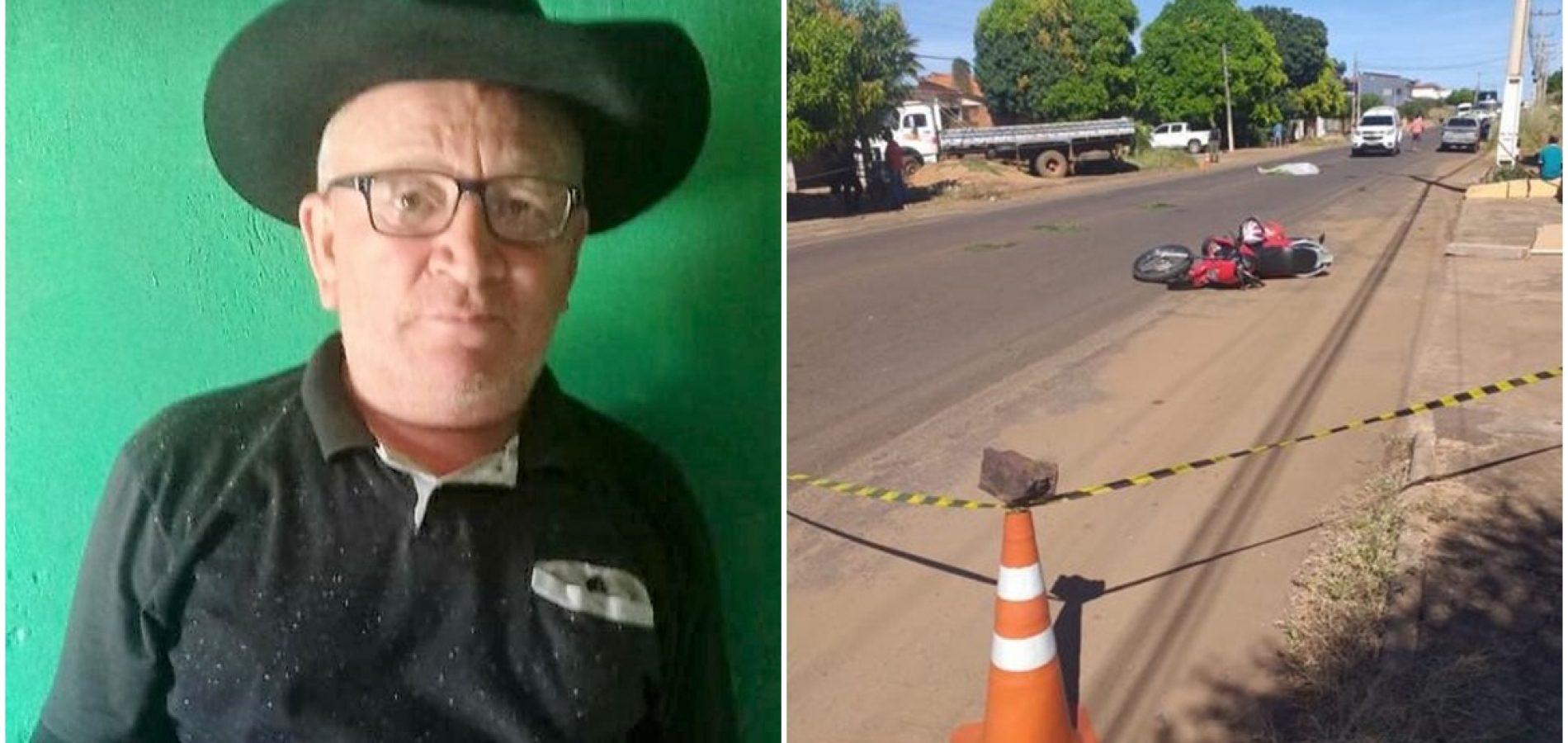 Homem que morreu após sofrer acidente no bairro Umari em Picos residia na zona rural de Bocaina