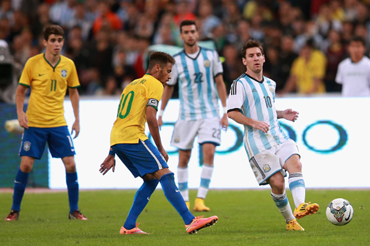 Brazil V Argentina Superclasico De Las Americas