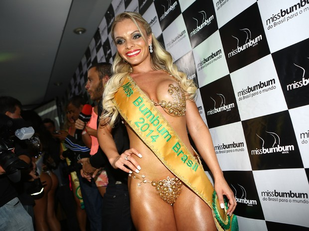 533a7a751 Representante de Santa Catarina é eleita a Miss Bumbum 2014  veja as fotos  - Cidades na Net